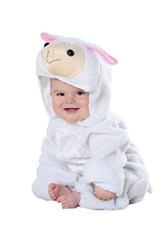 Costumizate! Disfraz de Oveja para Bebe Talla de 0 a 6 Meses Especial de Navidad