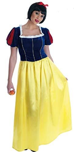 Fancy Me Damen Voll lang Länge Schneewittchen Märchen Henne Do Buch Tag Kostüm Verkleidung Outfit UK 8-26 Übergröße - Gelb, 8-10