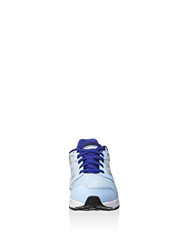 Nike Downshifter 6 (Gs/ps), Scarpe da Corsa Donna Azul (Bluecap / Deep Royal Blue-Metallic Silver)