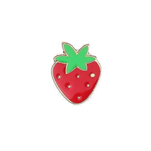 Sherineo Broschen für Kleidung Emaille Brosche Sets für Unisex Kinder Zink Legierung Niedlichen Mini Cartoon Regenbogen Kaktus Revers Pin für Rucksack Decor 1.8cm