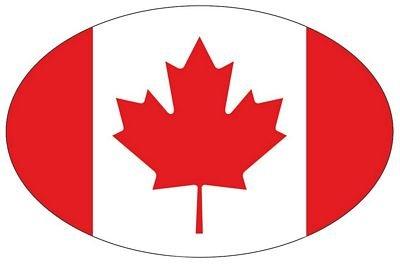Autoaufkleber Wappen Fahne Kanada Flagge NEU Aufkleber (Kanada Aufkleber)