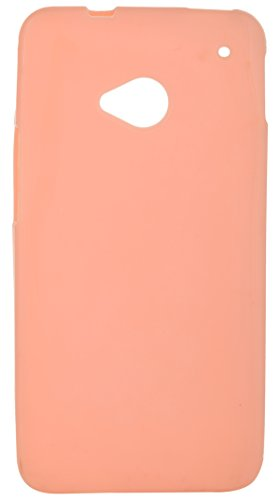 iCandy Back Cover for HTC One M7 (Orange)  available at amazon for Rs.109