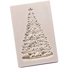 Demarkt Molde Del Árbol de Navidad Baking Mat Moldes Para Caramelo y Osos Gominola Dulces Bombones