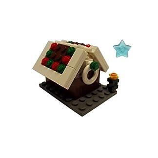LEGO® casa de Jengibre de Navidad con árbol de Navidad y clickits Star