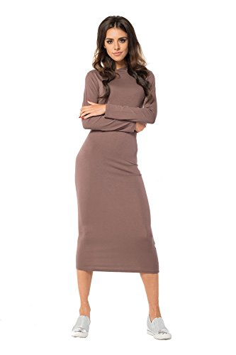 AE -  Vestito  - Maniche lunghe  - Donna Cappuccino