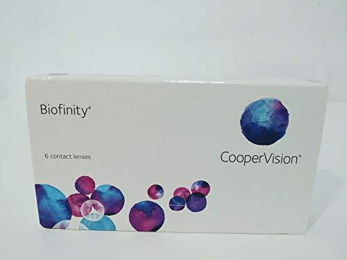 Biofinity Monatslinsen weich, 6 Stück / BC 8.6 mm / DIA 14.0 / -2,00 Dioptrien