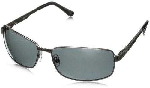 Polaroid - P4416 - Sonnenbrille Herren Rechteckig - Metallrahmen - Polarisiert - Schutzkasten inklusiv