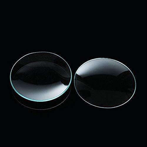 ChaRLes 10Pcs 60 millimetri Lab Watch vetro bicchiere coperchio concavo piatti di laboratorio vetreria forniture