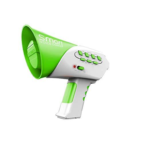 Kinder Erwachsene Entwicklung Lernspielzeug Bildung Spielzeug Gute Geschenke,Smart Multi Voice Changer Amplifier 7 Verschiedene Voice Modifiers Lautsprecher Spielzeug