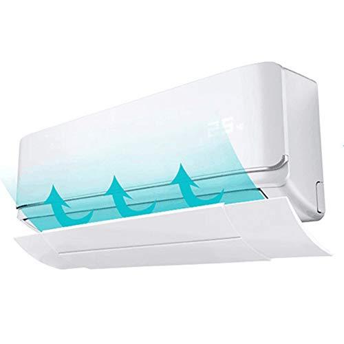 9302sonoaud Deflettore Retrattile antiriflesso Domestico Aria condizionata deflettore deflettore Vento Bianco