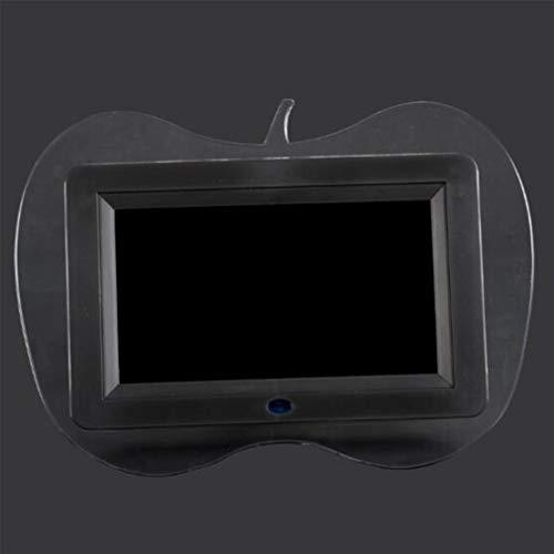 NINI Digitaler Fotorahmen 7 Zoll HD Multi-Funktion Apple Shape Werbemaschine/Elektronisches Fotoalbum/Business Giftse Multiple Color,Black