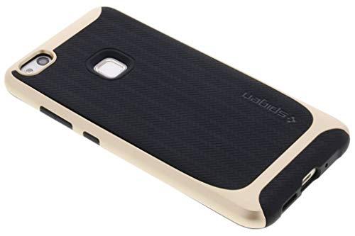 Spigen Cover Huawei P10 Lite, [Neo Hybrid] Bumper Premium [Champagne Gold] TPU Anti Stretch + paraurti consolidato/fine Aderenza/Protezione Double Layer - Custodia per Huawei P10 Lite (L14CS21512)