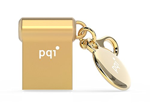 16GB PQI i-Mini II USB3.0 Gold USB-Flash-Laufwerk U838V -