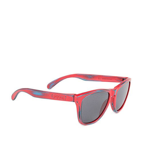 67580b92fa Oakley Skate Deck Frogskins Men s Limited Editions Sunglasses - Matte  Red Grey