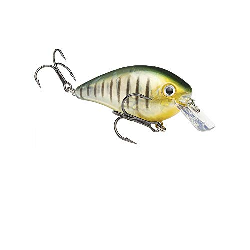 Strike King HCKVDS2.5-464 KVD Square Bill 2,5 Crankbait, 2-3/4 Zoll, 5/8 Unzen, Phantom Perch -