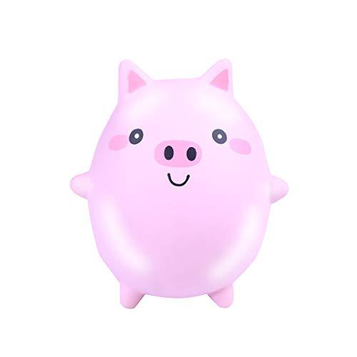 Sulifor Eierschale Pig Pinch Druck Dekompressionsspielzeug, Squishies niedliches Tier langsam steigende Creme drückte duftendes ()
