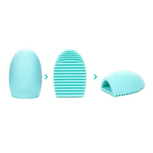 rosennie-cleaning-glove-makeup-washing-brush-scrubber-board-cosmetic-clean-silica-gel-cleaner-green