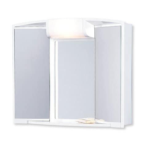 Spiegelschrank Angy – weiß - 2