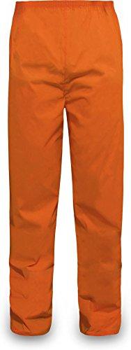 normani Outdoor Sports Regenhose für Damen und Herren wasserdicht 5000 mm für Wandern, Gassi gehen, Angeln oder Fahrad Fahren Farbe Orange Größe M