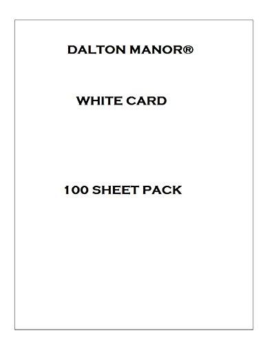 A5-Karton, 100 Blatt, 160 g, 25 Farben zur Auswahl, Weiß