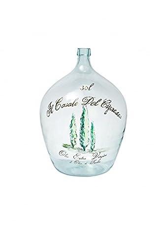 Grosse bouteille d'huile d'olives 30 L