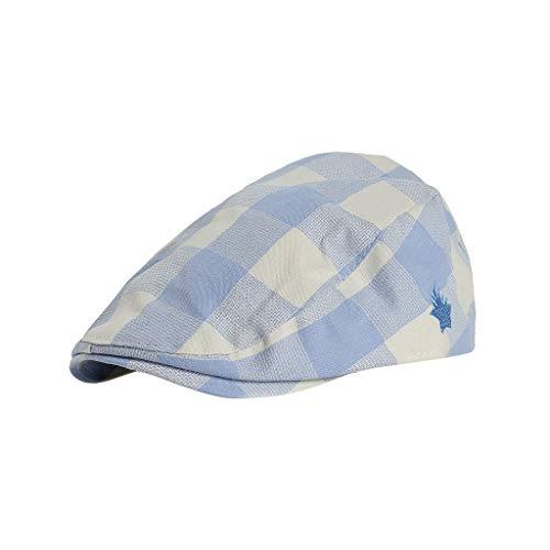 n Mädchen Beret Cap Hat Atmungsaktivität Hüte Französische Mützen Stil Flat Cap Baskenmütze Sommer Sun SUV Protection Hüte Foto Kostüm Fotografie Prop (Himmelblau) ()