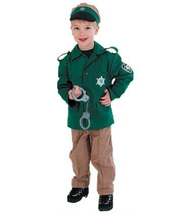 Kinder-Kostüm Polizist, Gr. 128 EMPFEHLUNG
