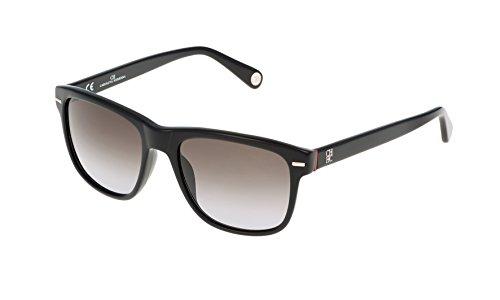 Carolina herrera she608540700, occhiali da sole donna, nero (negro), 54