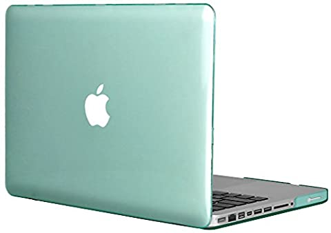 Topideal Crystal Hard Shell Case Cover Für MacBook 13Pro 33,8cm [33,1cm] (Modell: A1278) grün