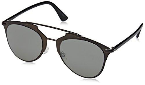 Dior Damen DIORREFLECTED SF M2P Sonnenbrille, Schwarz (Bkmtllzd Bk/Black Grey Speckled), 52