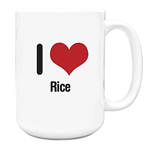 I love Rice Big 15oz Mug 2584