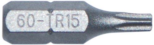 qualtool Premium 60-tr15Star T15Tamper Resistant Einsatz Bit -