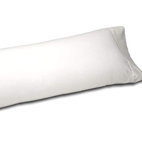 Sedalinne Sábanas HOTELES - Funda Almohada algodón de percal de 200 Hilos. Medida: 45x110 cm