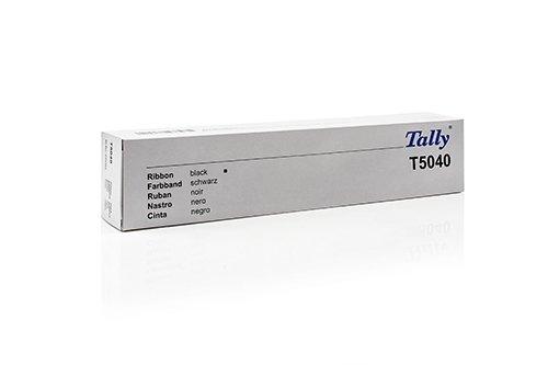 Preisvergleich Produktbild Original Farbbänder passend für Tally Genicom T 5040 Tally Genicom T5040 043393 , 43393 - Premium - Schwarz