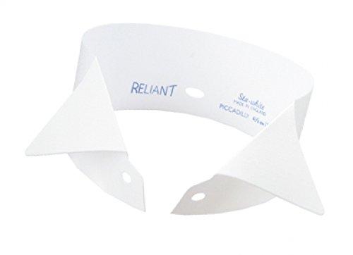 Tanzmaus Plastikkragen/Stehkragen weiß 3,5cm 41