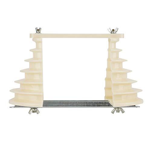 Spulen-Draht-Wicklungs-Form-Halter, elektrische Maschinen-Plastik einphasig 6 Schichten Spulen-Draht-Wicklungs-Form Beige