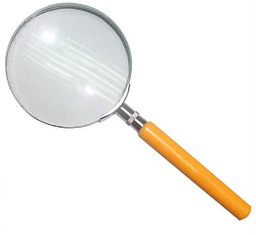MODYL Lupe Metallrahmen Miniatur Handheld Lupe 3D Optische Lupe