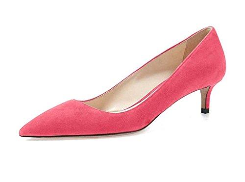 Edefs Chaussures À Talons Hauts Pour Femmes, Chaussures Pour Femmes Avec Talon Rose 6.5cm