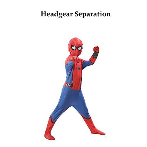 Spiderman H&m Kostüm - ZUOZHE Spiderman KostüM Cosplay Kind Erwachsene Eine Vielzahl Von Stilen Spinne Anime Siamesische Oder Split Strumpfhosen Fancy Dress Party Spielt KostüM Xs-XXXL,Colour-H-M