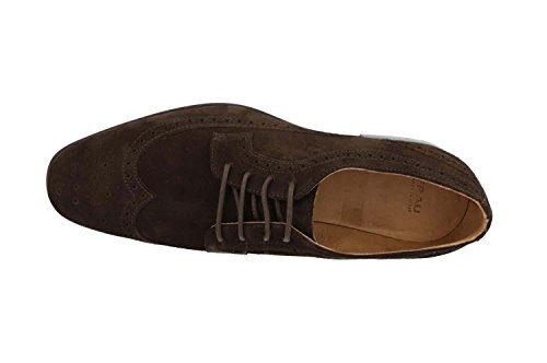 GREEN suede shoes 36A7 UERF Marron