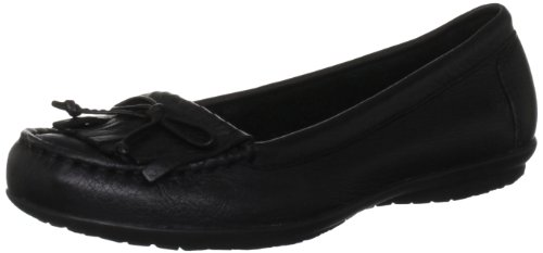 Hush Puppies - Scarpe basse non stringate, Donna, Nero (Black), 40 (6.5 uk)