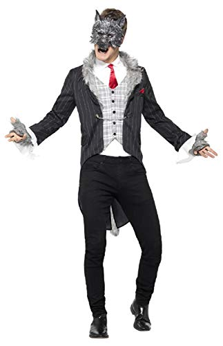 Big Bad Wolf Kostüm Für Erwachsene - Fancy Me Herren Deluxe Big Bad