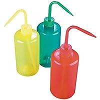 AZLON WGR038P Spritzflaschen, Rot, Kunststoff, 500ml, 5er-Pack