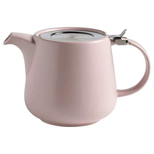 Maxwell & Williams AY0301 Tint Teekanne aus Porzellan, Rosa, 1200 ml