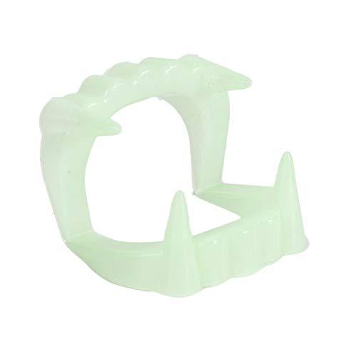 EDFVA 10 stücke Zähne Halloween Kostüm Fangzähne Glow -