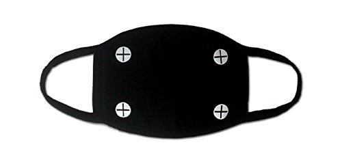 Sassy Pippi Unisex Süße Mundschutz Maske Emojimaske Kälteschutz Gesichtsmaske (Schrauben)