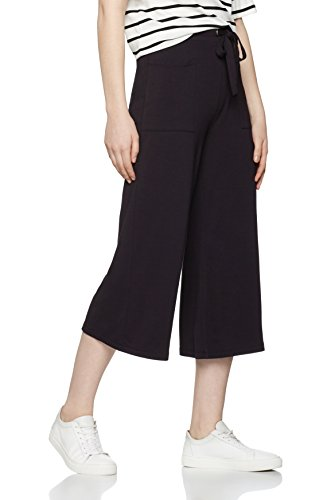 find-womens-wide-leg-pocket-trousers-black-x-small