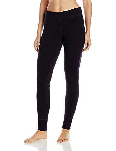 Midweight Wolle Lange Unterwäsche (WoolX Avery Damen Woll-Leggings Midweight Merino Base Layer Pants Warm & Soft, Damen, Avery Leggings, schwarz, Medium)