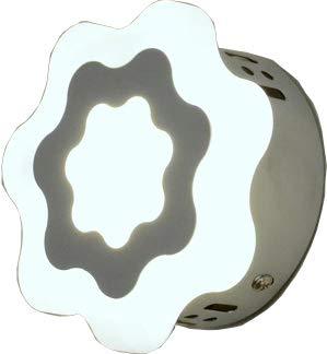 Wandlampe Wandleuchte Wandbeleuchtung Lampe Leuchte Flurlampe für Innen Strahler Metall Glas Blume Kinder Schlafzimmer Kinderzimmer Weiß 4000K LED 6W Julia  -