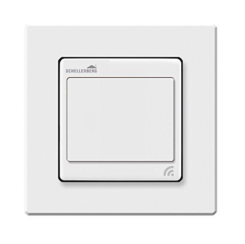 Schellenberg 21002 Smart Home Funk-Lichtschalter, weiß, Unterputz | Lichtsteuerung per App, Fernbedienung und Zeitschaltuhr -